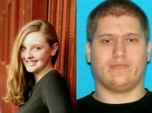 Cleo Younce, 13 (left) is reportedly in the company of Nicolas Hurley, 21.