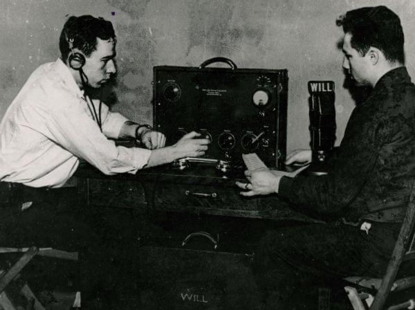 WILL AM-580 staffers in the 1930's