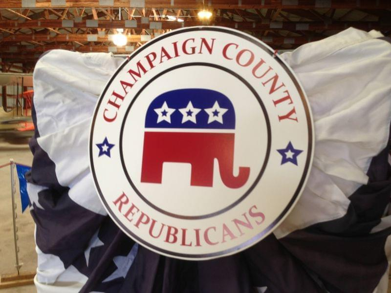 The Champaign County Republican Party's annual Fall Festival included a straw poll for each of the candidates seeking the GOP nomination for governor of Illinois.