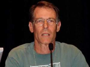 Robinson in August 2005, at the 63rd World Science Fiction Convention in Glasgow, United Kingdom.