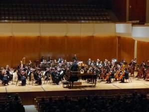 The Champaign-Urbana Symphony Orchestra performing under the direction of Stephen Alltop.