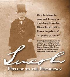 Cover of the Lincoln Prelude to the Presidency DVD