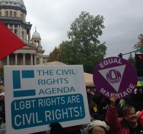 Same-Sex Marriage rally