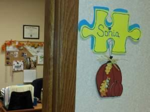 "The International Society for Arboriculture uses the ""True Colors"" personality test. Employees keep their colors on puzzle pieces outside their door in the office."