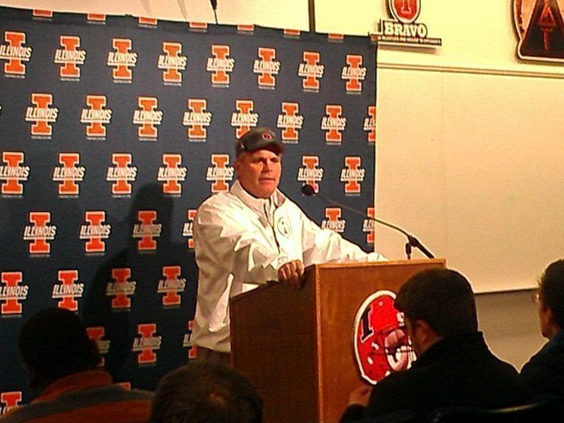 Illinois Coach Tim Beckman