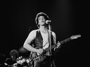 Lou Reed performing in London.