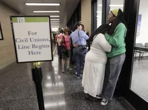 civil unions