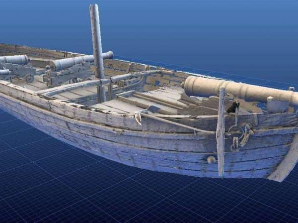 Even visitors to the National Museum of American History in Washington, D.C., can't see the Gunboat Philadelphia from every angle. But online, viewers can flip the boat in every possible direction using the Smithsonian Institution's new 3-D