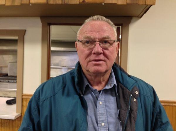 Gifford Village President Derald Ackerman