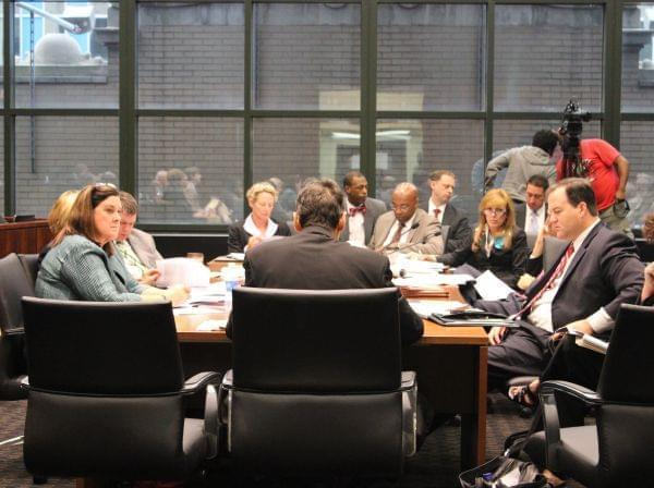 The pension conference committee meets in Chicago over the summer.
