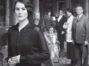 Photo of main cast of Downton Abbey Season 4