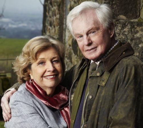 Celia (Anne Reid) and Alan (Derek Jacobi) at Far Slack Farm.
