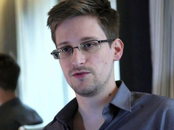 Edward Snowden, seen here in a photo provided by The Guardian, has been nominated for the Nobel Peace Prize by two Norwegian politicians.