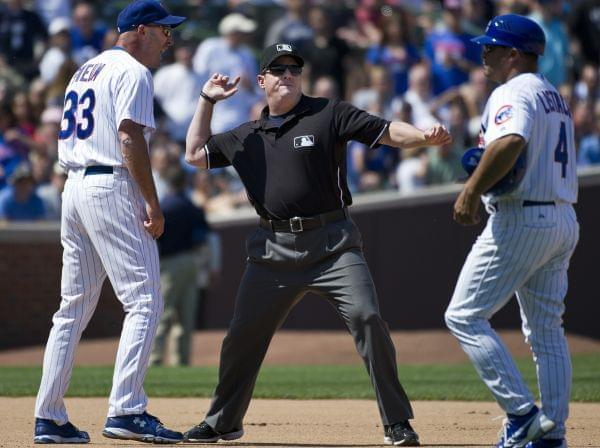 Eric Cooper ejects former Cubs manager Sveum