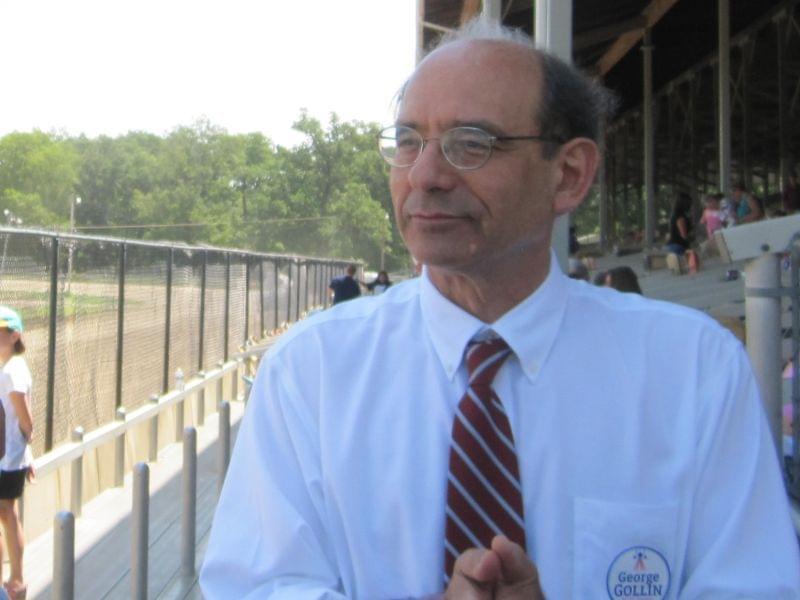 George Gollin at Champaign County Fair