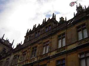 Highclere Castle where Downton Abbey is filmed