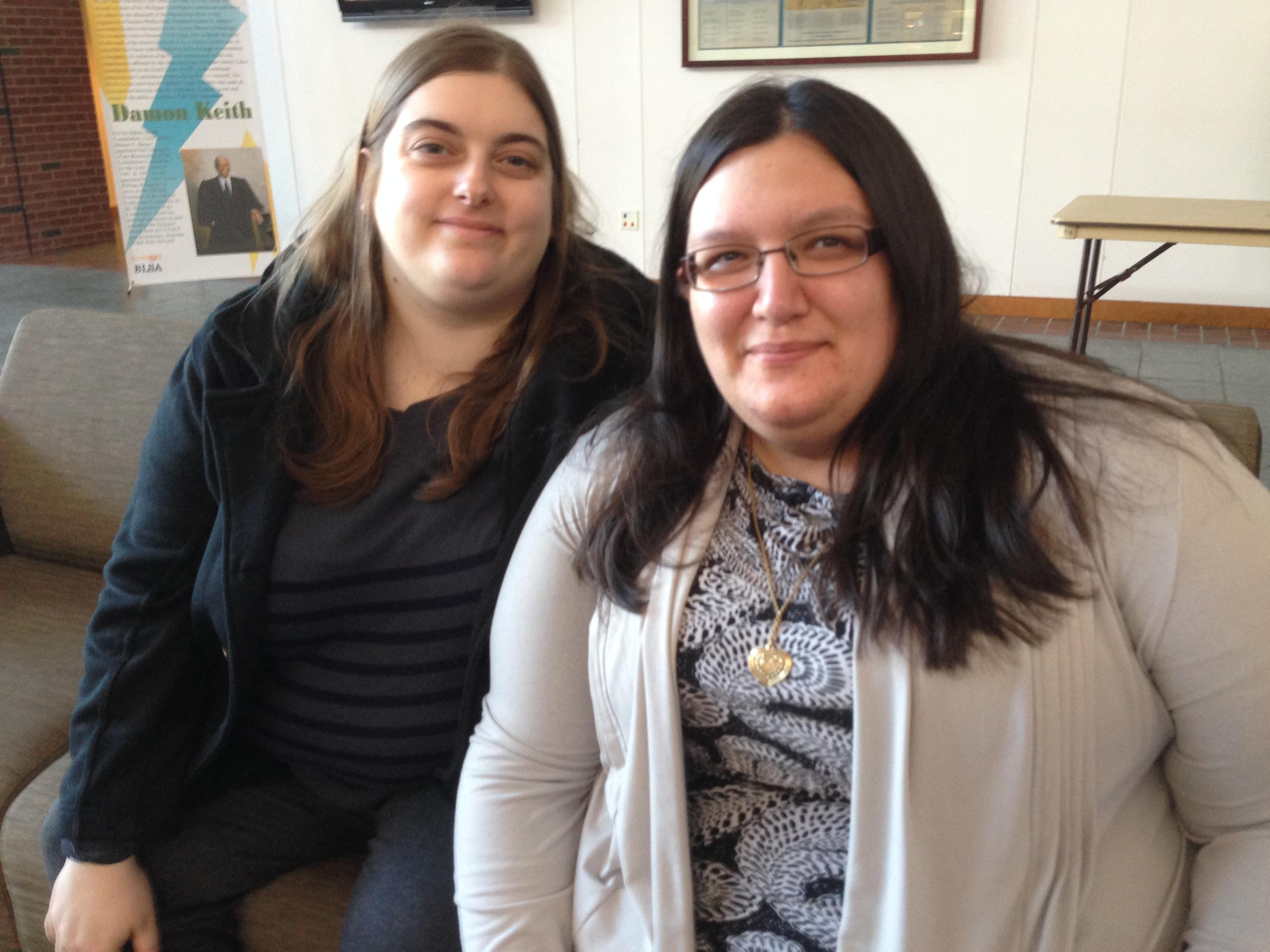 Marissa Meli, 28, and Laura Meli, 27, have been in a relationship for more than eight years, and on Wednesday, Feb. 26, 2014 became the first same-sex couple in Champaign County to get a marriage license.