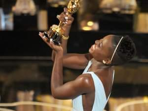 Lupita Nyong'o wins best supporting actress