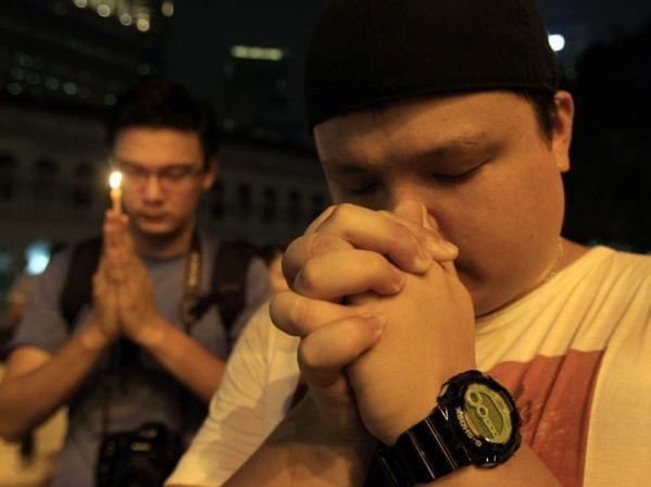Prayers in Kuala Lampur