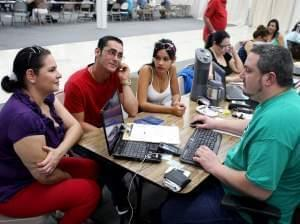 Signup for health insurance at a Miami mall March 20.