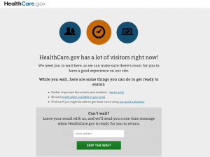 HealthCare.gov website problems