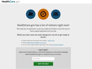 HealthCare.gov website problems