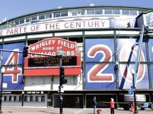 Wrigley Field on March 24
