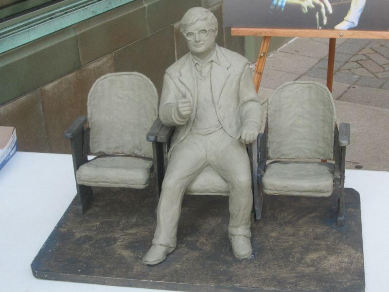 Roger Ebert sculpture model
