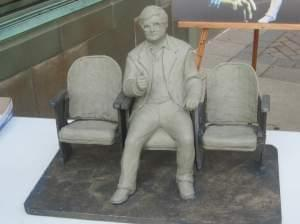 Roger Ebert sculpture model