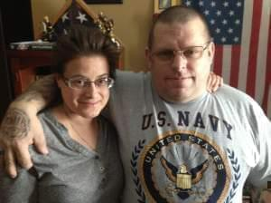 Rich and Holly Brandt at their home in St. Joseph, Ill.