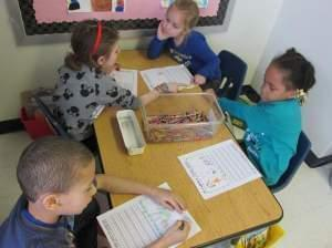 Students at Ball Charter School in Springfield, Ill.