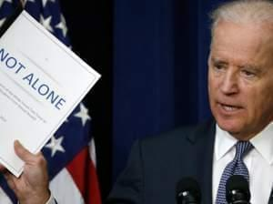 """Vice President Joe Biden on Tuesday announced the release of the first report of the White House Task Force to Protect Students from Sexual Assault. The report calls the intervention of bystanders one of the """"most promising prevention strategies"""