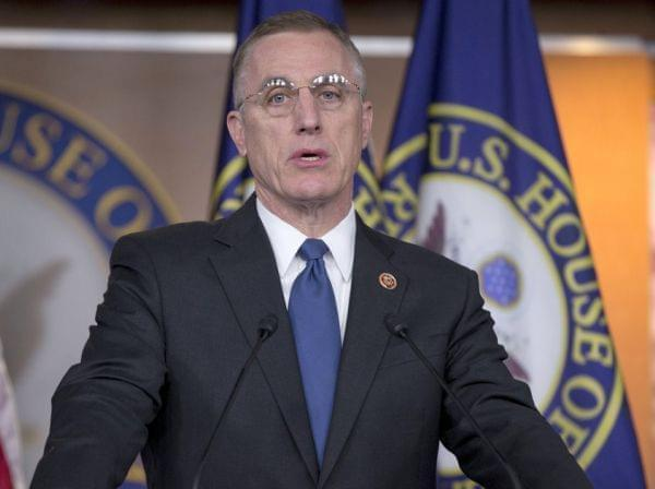 Rep. Tim Murphy, R-Pa., speaks during a December 2013 news conference in Washington to discuss the introduction of a legislative package of major mental health reforms.
