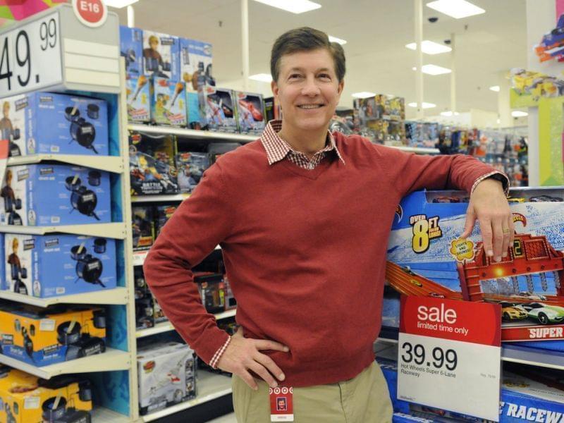 Target CEO Gregg Steinhafel in November of 2012.