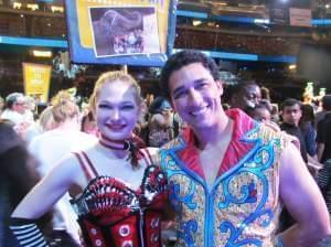 Champaign native and circus acrobat Samantha Pitard