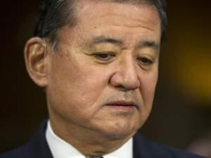 Veterans Affairs Secretary Eric Shinseki testifies before the Senate Veterans Affairs Committee on Thursday in Washington, D.C.