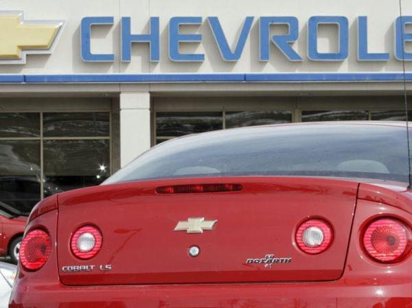 The Chevrolet Cobalt is one of several GM models that were recalled for faulty ignition switches. The carmaker is paying a $35 million penalty.