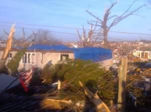 Destruction in Washington, Ill., following the Nov. 17, 2013 tornado.