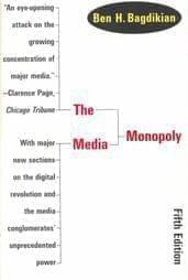 Book cover for The Media Monopoly