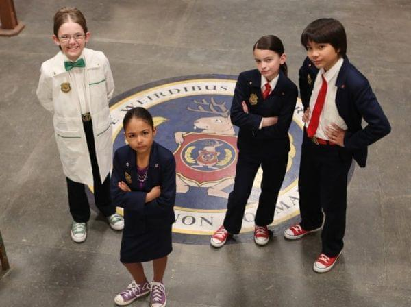 The agents of ODD SQUAD.