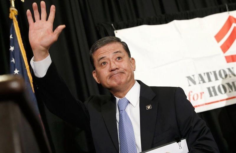 Secretary of Veterans Affairs Eric Shinseki resigns