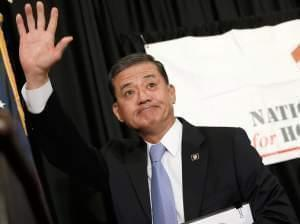 Secretary of Veterans Affairs Eric Shinseki resigns