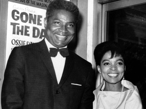 Ossie Davis and Ruby Dee in 1963,