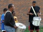 Bud johnson lee duncan drumming with others