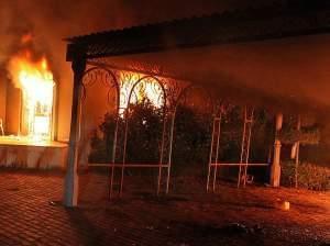 U.S. Consulate in Benghazi, September 11, 2012