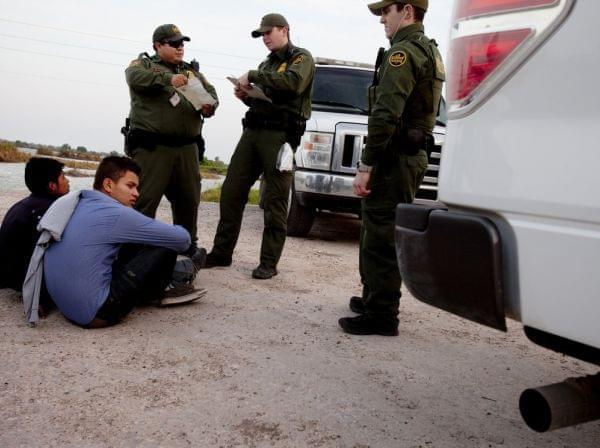 Young migrants seen apprehended by the Border Patrol near the Rio Grande in Hidalgo, TX, earlier this year. The next stop for many is either a detention center or deportation.