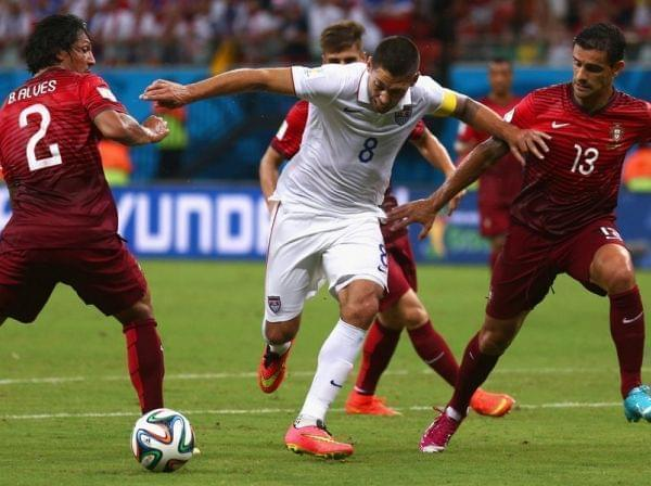 U.S. Ties Portugal in World Cup