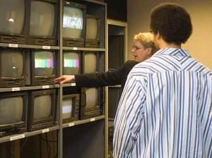 Brian in studio control