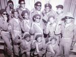 Douglass Center Drum and Bugle Corps, circa 1968, in Champaign, Illinois