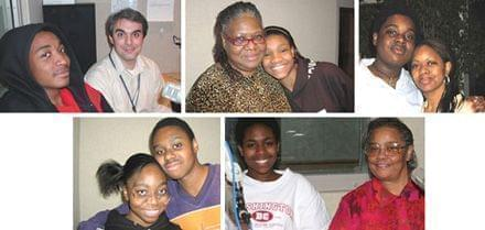 A collection of photos of the students who produced Inspiration Radio